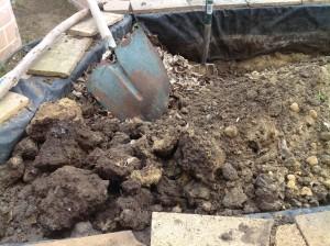 Excavating bed 4 2.16