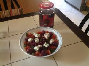 Hellenic salad 5