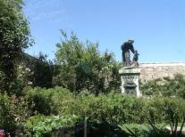S Francis statue, garden 5.16
