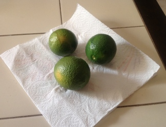 Lemons just off the tree 8.16