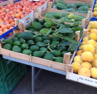 at the market in Ortigia