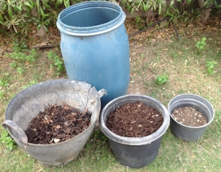 Compost in progress 2015